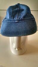 baseball cap stone washed denim, 6 caps