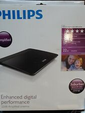 Philips SDV6226/27 Digital TV Antenna - 22dB Anplified Antenna