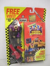 """The Incredible CRASH DUMMIES """"JUNKMAN"""" with 22 Minute Computer Animation Video"""