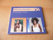 2 CD SET Whitney Houston-x2-Whitney Houston/Whitney - 21 CHANSONS
