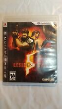 🔥🔥🔥 Resident Evil 5 PS3 DISC ONLY Capcom EXCELLENT CONDITION