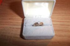 Engagement/Wedding Band 2 Tone Diamond