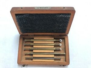 G BOLEY VINTAGE WATCHMAKERS ROLLER SINKERS SET  - IN ORIGINAL BOX - GOOD COND