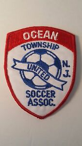 Vintage 80s 90s Soccer Patch Ocean Township Monmouth NJ New Jersey Buy It Now !