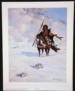 WINDSWEPT 8.5 by 10.75 inch Print Signed by Richard Luce