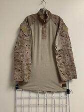 USMC Desert MARPAT FROG Top Ensemble Combat Shirt Defender Medium Long ML