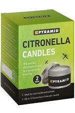 Mountain Warehouse Uni Citronella Candles 2pk Travel