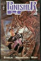 Punisher POV Point of View #4 VF/NM 1991 Marvel comics 1st Print Starlin