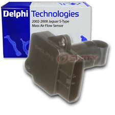 Delphi Mass Air Flow Sensor for 2002-2008 Jaguar S-Type 4.2L V8 - MAF Intake to