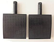 2 pcs 5.8 GHz 12dBi Panel WiFi Antenna  RP-SMA Screw-On Swivel for  IP Camera BK
