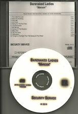 BARENAKED LADIES Maroon 2000 ULTRA RARE TST PRESS ADVNCE PROMO DJ CD USA