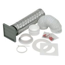 Manrose 100mm Extractor Fan Venting Kit Wall Ducting Ventilation Hose Flexible