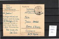 SBZ  Postkarte mit  156/61  x      Michel 70.-    K 17265