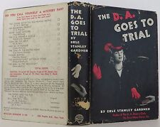 ERLE STANLEY GARDNER The D.A. Goes to Trial FIRST EDITION