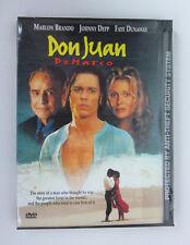 NEW Don Juan de Marco (DVD, 1998) Factory sealed