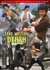 GRAND MASTER OF DEATH  - NEW DVD-FREE UPGRADE TO 1ST CLASS SHIPPING
