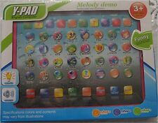 """Y-pad Tablet  English Learning Education Machine Toy 9.5"""" Pink New Free Shipping"""