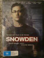 Snowden DVD (Region 4) Free Postage. A25