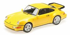 Porsche 911 Turbo 964 Yellow 1990 MINICHAMPS 1:18 155069100