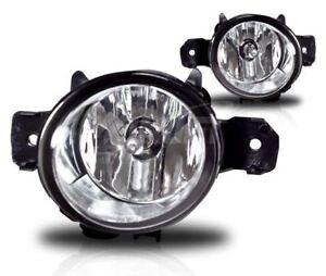 2010+ BMW E84 X1 MTECH M TECH OEM REPLACEMENT CLEAR FOG LIGHTS LAMPS PAIR SET