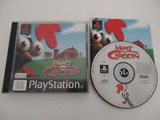 MORT THE CHICKEN - SONY PLAYSTATION - Jeu PS1 PAL Complet