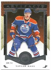 2015-16 ARTIFACTS TAYLOR HALL #125 @ 293/999 @ OILERS UPPER DECK