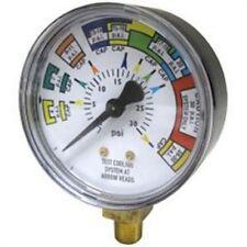 Gauge for Cooling System/Cap Pressure Tester (Sta-12270) Sta-12702 Brand New!