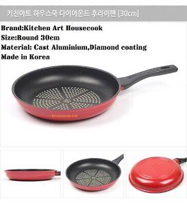 Kitchen Art housecook 30cm Fry pan, Wok pan Non-stick Diamonding coating Korea