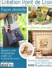French cross stitch magazine Creation point de croix No.8