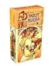 Tarot Mucha Cards Deck Game