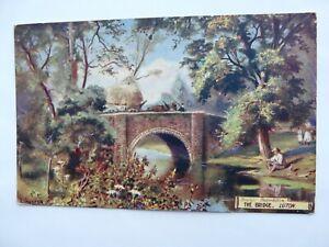 Luton, The Bridge sent 1909. Regal Art Publishing Co.
