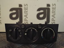 TOYOTA AVENSIS D4D 2.0 2007 HEATER CONTROLS WITH AIR CON (SOME MARKS)