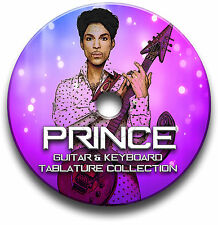 PRINCE POP ROCK GUITAR TABS TABLATURE SONG BOOK SOFTWARE CD