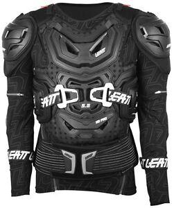 LEATT BODY PROTECTOR 5.5 ADULT ARMOUR PRESSURE SUIT BLACK MX MOTOCROSS ENDURO