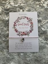 Good Luck Wish Bracelet Gift Four Leaf Clover Charm Bracelet - You Got This!
