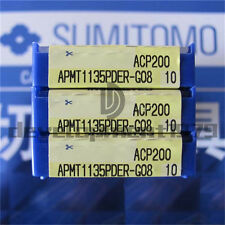 Nuevo 10 un. Sumitomo APMT 1135 PDER-G08 ACP200 Insertos De Carburo
