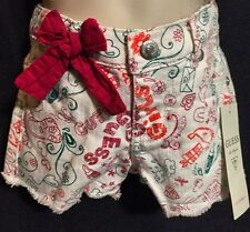 Nwt Guess baby girl's Printed shorts 18 Months