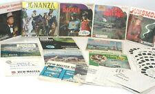 Vintage  View Master Reels Lot -BATMAN-GUNSMOKE-BONANZA-LOVE BUG ..& MORE