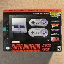 Super Nintendo Entertainment System SNES Classic Edition Brand New Authentic OEM