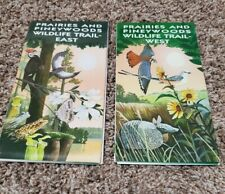 Prairies and Pineywoods Wildlife Trail - East and West Map & Trails Texas Parks
