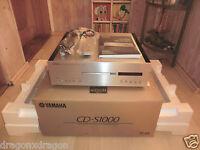 Yamaha CD-S1000 High-End SACD-Player, OVP&NEU, sehr gepflegt, 2 Jahre Garantie