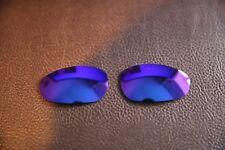 PolarLenz POLARIZED Purple Replacement Lens for-Oakley Juliet sunglasses