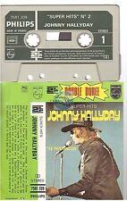 JOHNNY HALLYDAY super hits #2 cassette K7 tape 7581 209