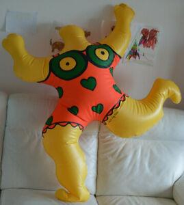 Authentique Nana Niki de st phalle 1996 SAINT-PHALLE sculpture inflatable ballon