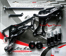 COMMANDES RECULEES VALTERMOTO TYPE 1  POUR DUCATI MONSTER 796 2011 2012 (PED25)