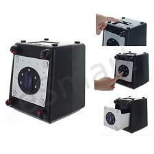 Laser Beam Passcode Safe Box Alarm Sound Money Bank Security 4 Digit Code Gadget