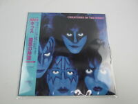 Kiss Creatures Of The Night 28S-138 with OBI Japan VINYL  LP