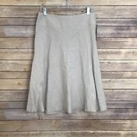 NWT $118 Nic And Zoe Fawn Mix Summer Fling Skirt Size 10