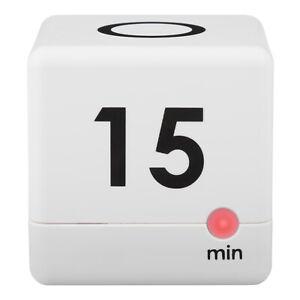 BBB82431 La Crosse Technology 5, 15, 30 or 60 Minutes Digital Cube Timer - White