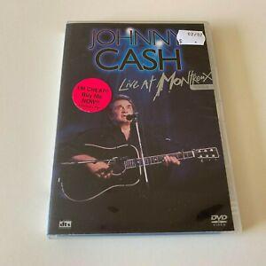 JOHNNY CASH LIVE AT MONTREUX - DVD